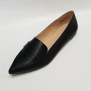 NEW ana GLEN black Pointed Toe Ballet Flats 8
